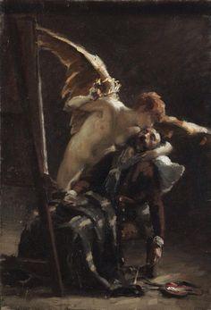 Jean André Rixens, La Gloire, 1883, Musée des Augustins