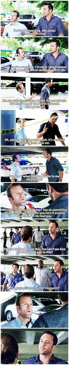 some people need more couple counselling~ hawaii five 0 - h50 - alex o'loughlin - scott caan - 5.12