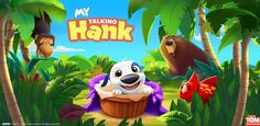 My Talking Hank for PC - Free Download - http://gameshunters.com/talking-hank-pc-download/