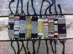 Bracelets by Pilgrimage Inkle Weaving, Weaving Art, Tapestry Weaving, Textile Jewelry, Fabric Jewelry, Jewellery, Willow Weaving, Weaving Textiles, Weaving Projects