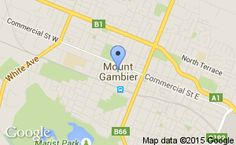 Location of Mount Gambier & District Cricket Association Cricketer