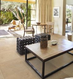 Neranjo Limestone in a velvet finish. Limestone floor tiles with a subtle texture.
