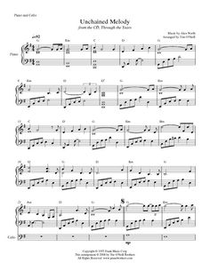 Unchained Melody full score001
