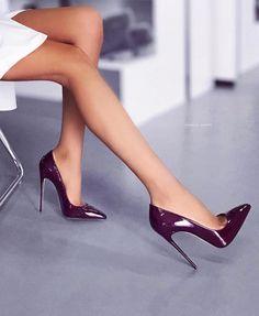 Sexy Legs And Heels, Hot High Heels, Womens High Heels, Stiletto Shoes, Pumps Heels, Stilettos, Shoes Sandals, Heeled Boots, Shoe Boots