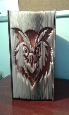 Owl Folded Book Art Birthday Gift for Dad / by CreationsByMEx