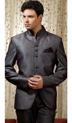 ** sangeet night bandhgala suit **