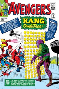 The Avengers Jack Kirby Cover. appearance of Kang and a Kirby cover classic. A silver age book I also own.