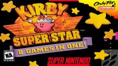 Kirby Super Star snes is an Action video game for Super Nintendo Entertainment System. This game developed by HAL Laboratory and published by Nintendo. Nintendo 3ds, Nintendo Switch, Nintendo Decor, Nintendo Super Nes, Nintendo Systems, Game Boy, Wii U, Superstar, Playstation