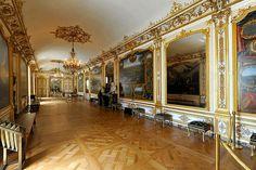 Chateau de Chantilly    Les Appartements des princes de Condé  Galerie de Monsieur le Prince