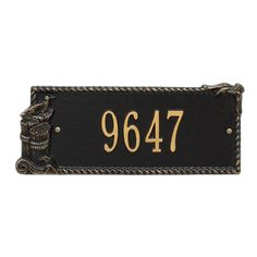 Personalized Seagull Nautical Address Plaque - One Line Available now at the best price only at www.everythingnautical.com  #Nautical #Home #Decor #Gifts