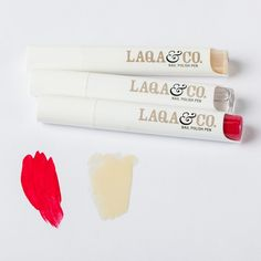 Just ordered, hope they are as good as I've heard! Stylist Magazine loves the long lasting color of LAQA & Co. Diy Beauty, Beauty Makeup, Fashion Beauty, Beauty Stuff, Beauty Ideas, Nail Polish Pens, Nail Pen, Pretty Makeup, Love Gifts
