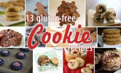 13 Gluten-Free Holiday Cookie Recipes from some amazing bloggers #glutenfree