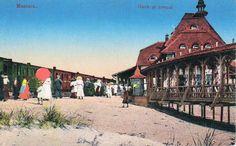 Mamaia - Gara si tren - 1912