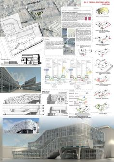 Transformation of concept diagram into presentation poster presentation board design, plate presentation, project presentation Architecture Panel, Architecture Graphics, Architecture Portfolio, Architecture Drawings, Architecture Design, Presentation Board Design, Architecture Presentation Board, Plate Presentation, Project Presentation