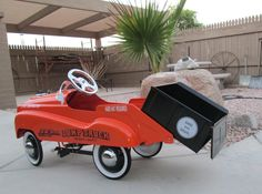 Pedal Car Dump Truck | Collectors Weekly