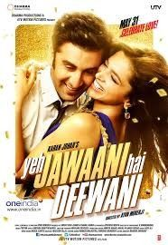 """""""Yeh Jawaani Hai Deewani"""" is a 2013 Indian coming-of-age romantic comedy film, directed by Ayan Mukerji and produced by Karan Johar. Best Bollywood Movies, Bollywood Couples, Bollywood Memes, Popular Movies, Latest Movies, Bollywood Stars, Hd Movies, Movie Tv, Romance Movies"""