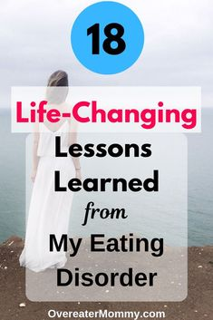 Can you learn life-changing lessons from an eating disorder? These are 18 lessons learned from my eating disorder. Mental Health Therapy, Mental Health Quotes, Crush Quotes, Quotes Quotes, Relapse Prevention, Body Positive Quotes, Horoscope Relationships, Compulsive Overeating, Binge Eating
