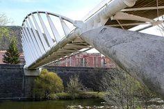 Santiago Calatrava - La Devesa Footbridge Ripoll Spain -1989-1991