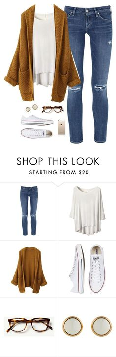 this charleston weather rn by classically-preppy on Polyvore featuring Citizens of Humanity, Converse and Hermès