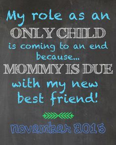 pregnancy announcement sibling boy girl by tinyfirststeps