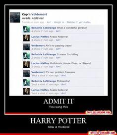 @Meghan Catalina Ummm... Harry Potter has always been a musical...
