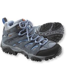 Women's Merrell Moab Waterproof Hiking Boots - may be good for plantar's fasciitis but don't remember where I read that