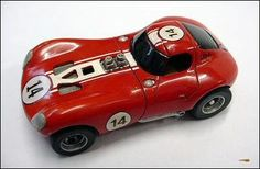 Racing Legends Cheetah Coupe resin HO slot car (2001-2009, Antony, France by Thierry Taupenas)