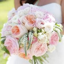 Perfect wedding bouquet for spring or summer