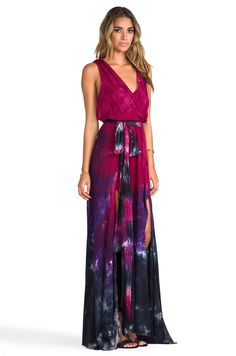 Blu Moon Goddess Dress in Raven | REVOLVE