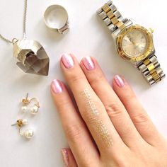 We've been loving silver and gold accents lately! Here are our accessories of the day. What are yours? Show us and tag us on Instagram - you might get featured on MegStreetWear.ph. #accessoriesoftheday #accessories #watch #crystal #silver #moonstone #quartz #pearls #zara #stoneriverph #gold #LOTD #OOTD #pilipinasOOTD #aseanOOTD #MegLookbook #nailpolish #polish #maccosmeticsph #justjewels