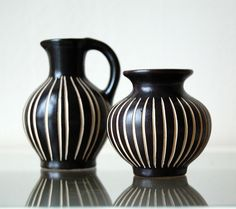 Vintage vases from Germany.