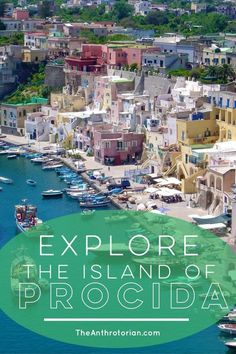 Island | Beach | Stunning Views | The Talented Mister Ripley Island | Italy | Procida | Mediterranean | Blue Sky | Ocean | Harbour | Colourful Buildings | Color | Travel Destinations | Travel | Adventure | Must-Visit Italy