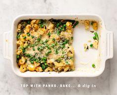 Mostly Veggie Baked Macaroni