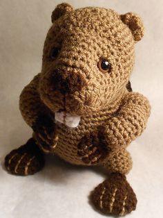 45208d15541 Ravelry  Beaver pattern by Jessica Boyer Crochet Animals