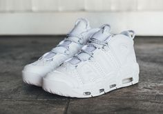 bb78f81b6f33 Nike Air Max Uptempo Triple White Pack Release Info