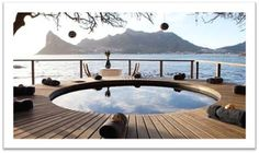 March 22-23 - Renovating a Day Care Centre: Nestled at the base of Chapman's Peak, overlooking the Cape's Iconic Sentinel, lies the enchantingly elegant Tintswalo Atlantic. (Giving Back in South Africa - Join Mrs O Around the World)