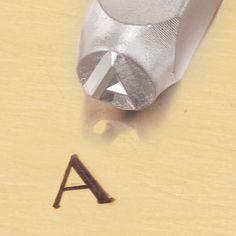#Metal #Design #Stamp By Impressart 6mm #Greek #Symbol #Alpha #handmade #thecraftstar $8.00
