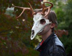 Cervine Skull Mask by Everruler on deviantART