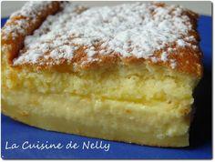 Le fameux Gâteau Magique à la vanille