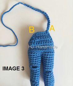 MUÑECA DE CROCHET | CrochetyAmigurumis.com Crochet Doll Dress, Crochet Doll Clothes, Crochet Doll Pattern, Knit Crochet, Crochet Hats, Crochet Videos, Doll Hair, Amigurumi Doll, Doll Patterns