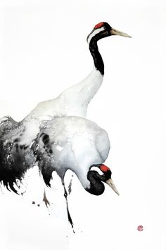 Karl Martens, Cranes | Cricket Fine Art