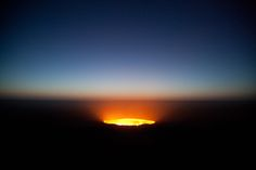 """A Cratera de Darvaz, conhecida também como """"Porta para o Inferno"""""""