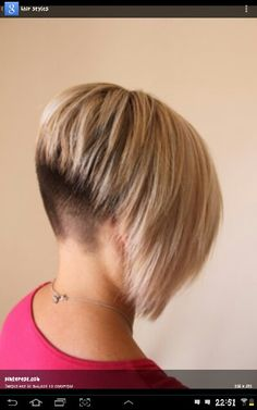 Feel the need to go back to the darker colored undercut...this is your warning Jeanne!