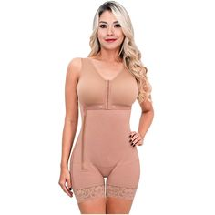 908b4d8cb2837 SONRYSE 053 Tummy Control Csection Postpartum Girdle Extra Firm Bodysuit  Shapewear Slimming Full Body Shaper for