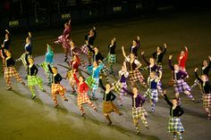 The Edinburgh Tattoo Highland dancers 2013! Most amazing way to spend a summer :D