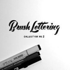 SerialThriller™ — type-lover: Brush Lettering Collection byNeil...