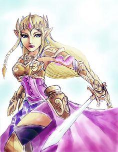 Zelda hyrule warriors by shiroiwolf