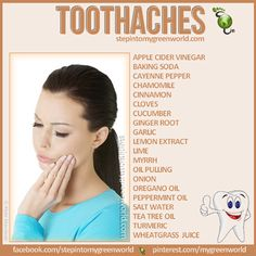 All Natural Remedies For Toothaches