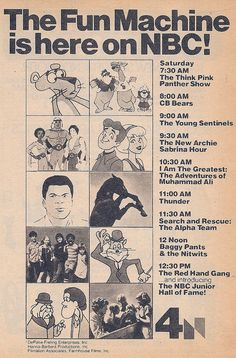 enjoyed that cartoon! Best Saturday morning cartoon ever. 1970s Cartoons, Classic Cartoons, Cool Cartoons, Cartoon Photo, Cartoon Tv, Old Tv Shows, Kids Shows, Saturday Morning Cartoons, Retro Advertising