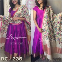DC 236For queries kindly inbox or Email- deepshikhacreations@gmail.comWhatsapp/Call - 9059683293 08 May 2016 29 November 2016